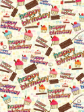 30 x Decorative Everyday Wrapping Paper (WP1056)