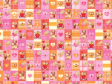 30 x Decorative Valentines Day Wrapping paper (WP1071)